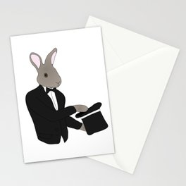 Rabbit Magician Stationery Cards