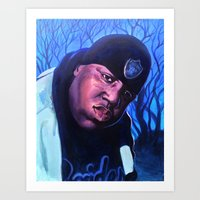 notorious Art Prints featuring Notorious by JRAC