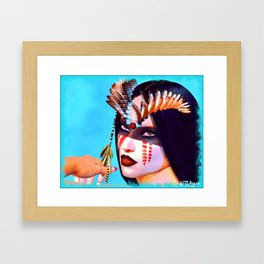 Before The Days Of Sedition Framed Art Print