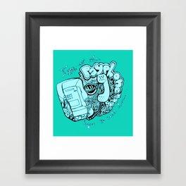 all of my change i've spent on you Framed Art Print
