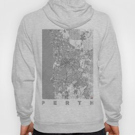 Perth Map Line Hoody