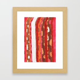 Wooden Two Framed Art Print
