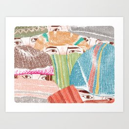 Greetings from the NorthEast Art Print