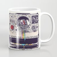 huebucket Mugs featuring COLOR BLINDNESS by Huebucket