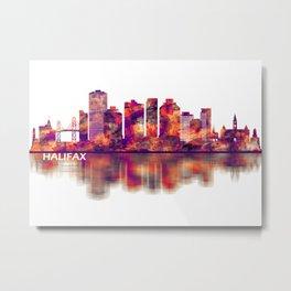 Halifax Canada Skyline Metal Print