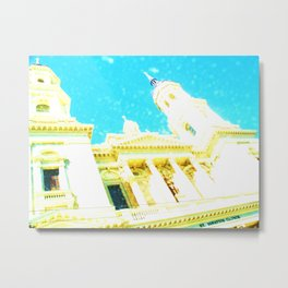 A Building to be Discovered Metal Print