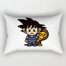 dragon ball and baby milo Rectangular Pillow