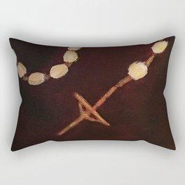 Rosary Rectangular Pillow