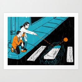 Risk Assessment Art Print