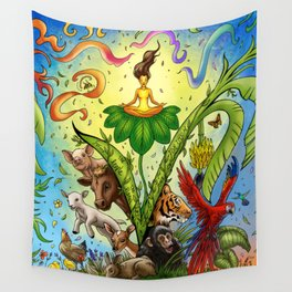 Vegan for them Wall Tapestry