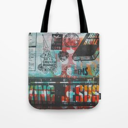 King Jesus Tote Bag