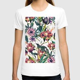 Bloom colorful garden vintage T-shirt