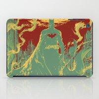 gotham iPad Cases featuring Gotham Knight by Hai-ning