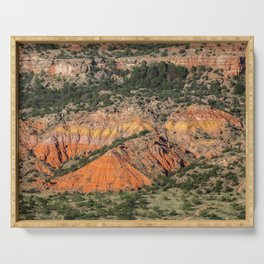 Palo Duro Canyon State Park Landscape Serving Tray