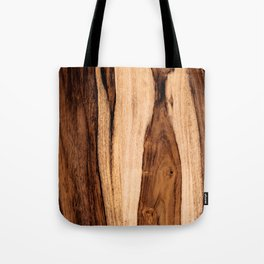 Sheesham Wood Grain Texture, Close Up Tote Bag