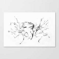 Line 8 Canvas Print