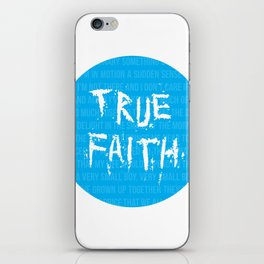 True Faith iPhone Skin
