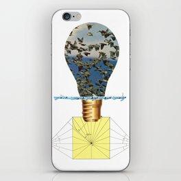 Ideas Come, Ideas Go iPhone Skin