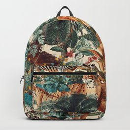 Floral and Animals Pattern IV Backpack
