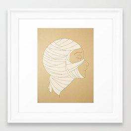 Bride of the Mummy Framed Art Print