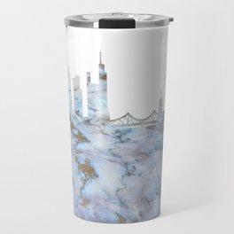 Frankfurt Skyline Germany Travel Mug