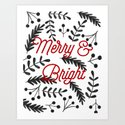 Merry & Bright by brownpaperbunny