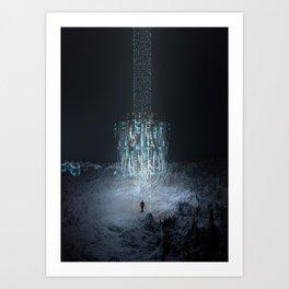 Beamer Art Print