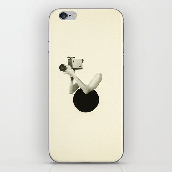 Film Noir iPhone & iPod Skin