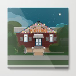 A Night at the Husky Picture Theatre 2020 Metal Print