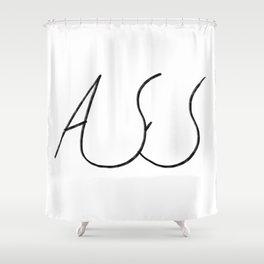 ASS Shower Curtain