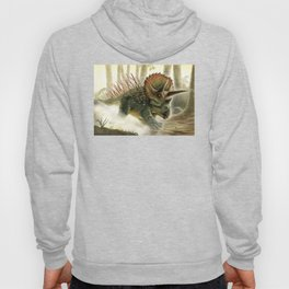 Triceratops Charge! Hoody