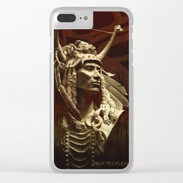 First peoples Power Clear iPhone Case