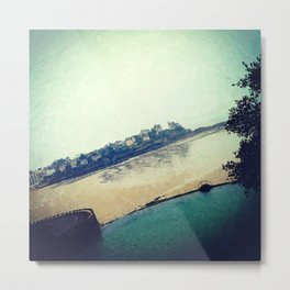 Summertime in Dinard Metal Print