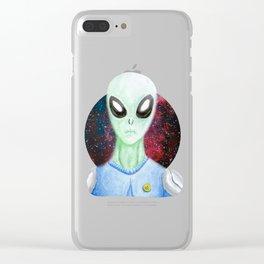 Helashx the alien Clear iPhone Case