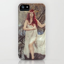 Woodland Fairy 3 iPhone Case