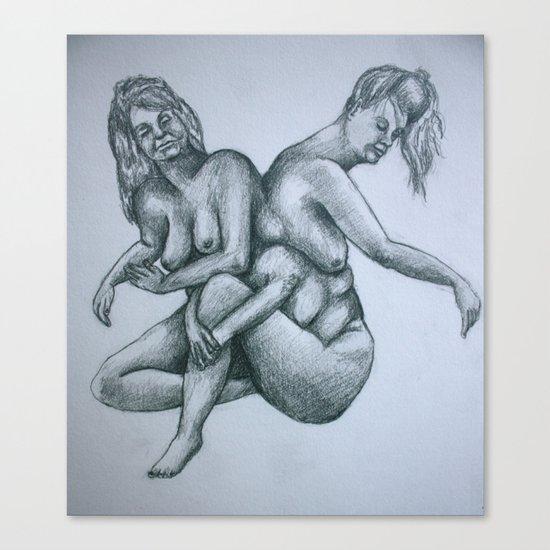 Sisters II Canvas Print