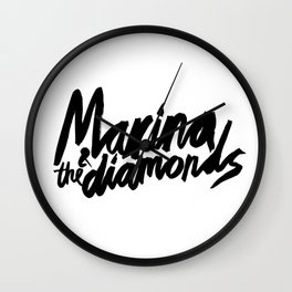 Marina and theDiamonds Wall Clock