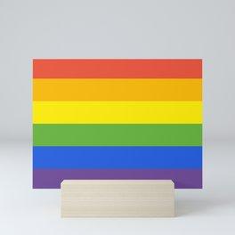 LGBT FLAG Mini Art Print