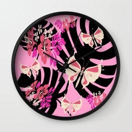 Isla Tropicana (sweet pink & vanilla) Wall Clock