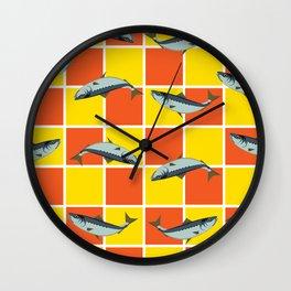 Ice Cream Sardines #1 Wall Clock