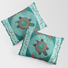 Visitors Anasazi Folk Art Pillow Sham