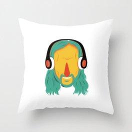 David! Throw Pillow