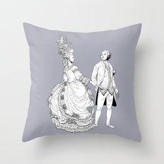 Duke and Duchess Throw Pillow