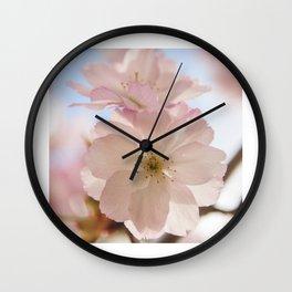Sping blossom Wall Clock