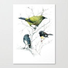 the cutie trio Canvas Print