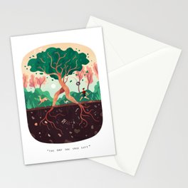 The Day the Tree Left Stationery Cards