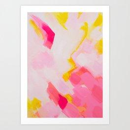 Pieces of love 6 Art Print