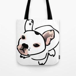 French Bulldog Pup Drawing Tote Bag