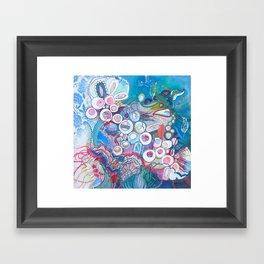 Aquatic Soul Dance Framed Art Print