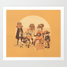 Halloween '88 Art Print